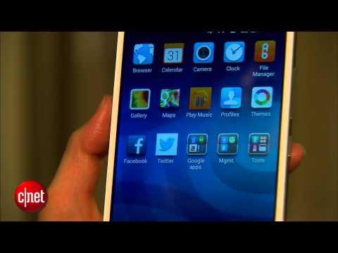 Chạm mắt điện thoại Huawei Ascend Mate2 4G