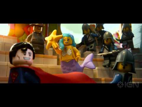The Lego Movie - Trailer #1, Here's the first trailer for The Lego Movie, from the directors of 21 Jump Street and featuring the voice of Will Arnett as Batman.