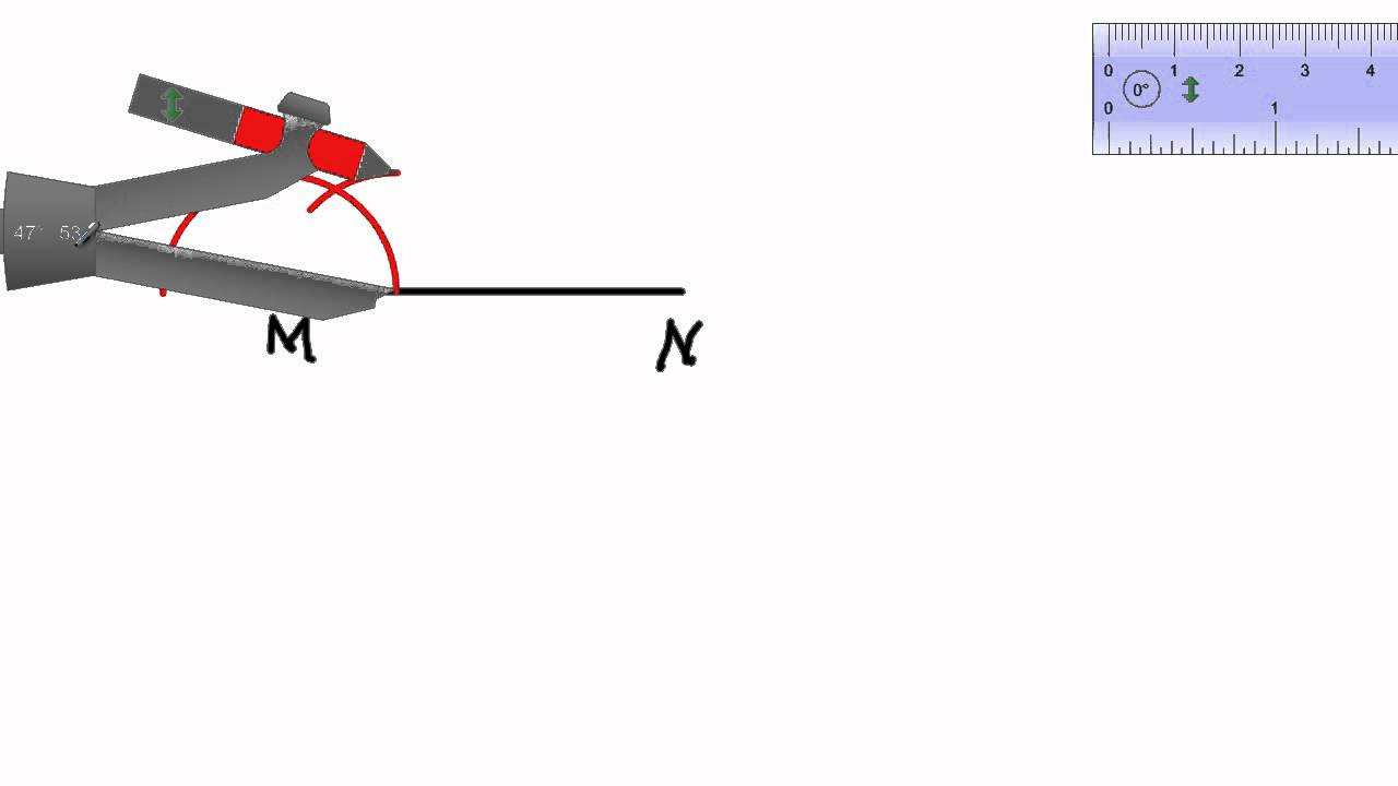 how to find a 30 degree angle