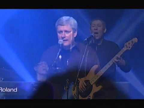Stephen Harper concert Beatles