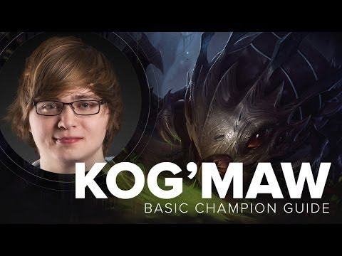 Kog'Maw ADC guide by Cloud9 Sneaky   Season 5   League of Legends
