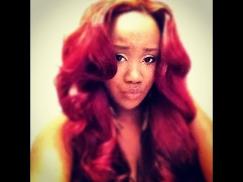 Natural sew in with Bobbi boss ocean wave - YouTube