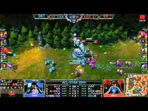 [09.05.2014] SKT vs C9 [All-Star Paris 2014]