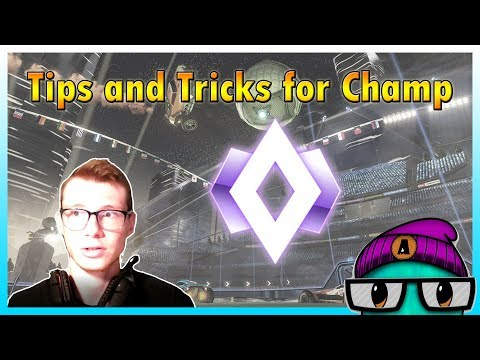 What It's Like In Champion Rank In Rocket League and How To Get There! Tips And Tricks Rocket League