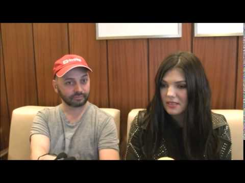 Eurovision 2014: Interview with Paula Seling & Ovi (Romania) at their hotel