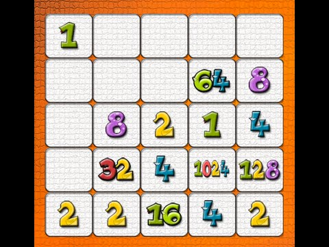8192 Puzzle Game (5x5 Puzzle) / Improved 2048 / How I Scored 17,250 Points?