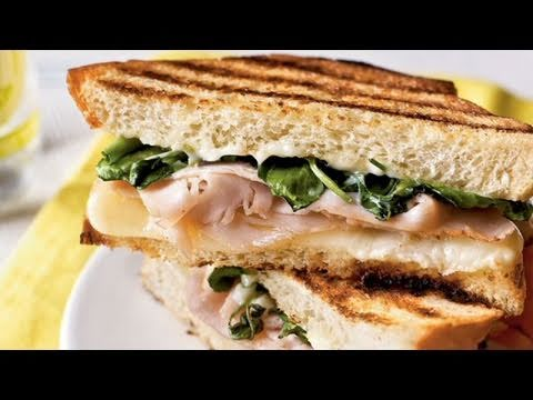 Turkey Panini with Watercress and Citrus Aioli Recipe