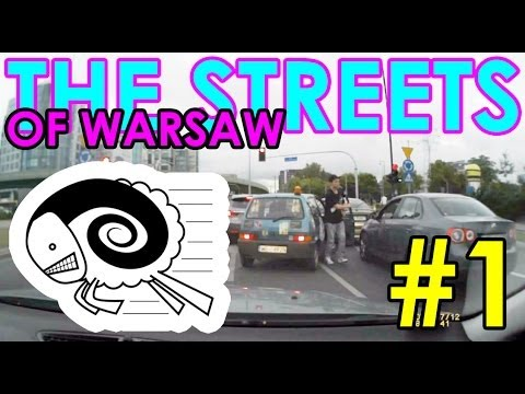 The streets of Warsaw: dangerous traffic situations #1