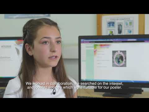 ePortfolio-Antonia Georgiou / Polemidia Gymnasium (with English Subtitles)