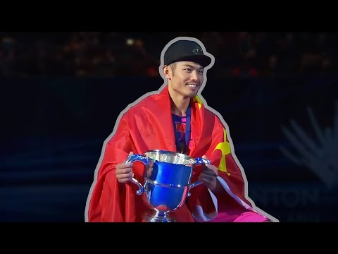 The Legend of LIN DAN - SIX Titles  in All England Badminton Championships