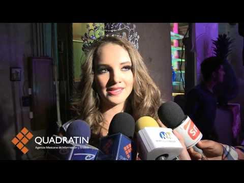 Coronan a la mujer más bella de Michoacán