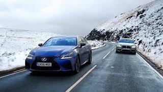 Lexus GS F vs BMW M5 - Chris Harris Drives - Top Gear. Watch online.