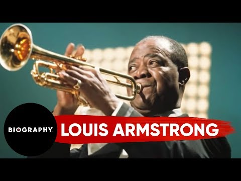 Louis armstrong short biography