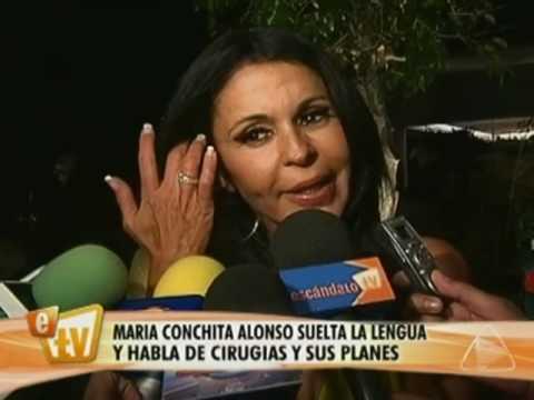 Proyectos y cirugías de María Conchita