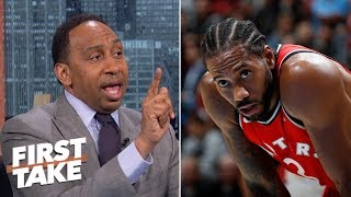 Kawhi Leonard wouldn't mesh with LeBron on the Lakers – Stephen A.  | First Take