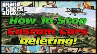 GTA 5 How To Stop Custom Cars, Trucks & Aircraft From