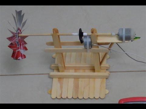 Mini gerador de energia eólica versão 2.0