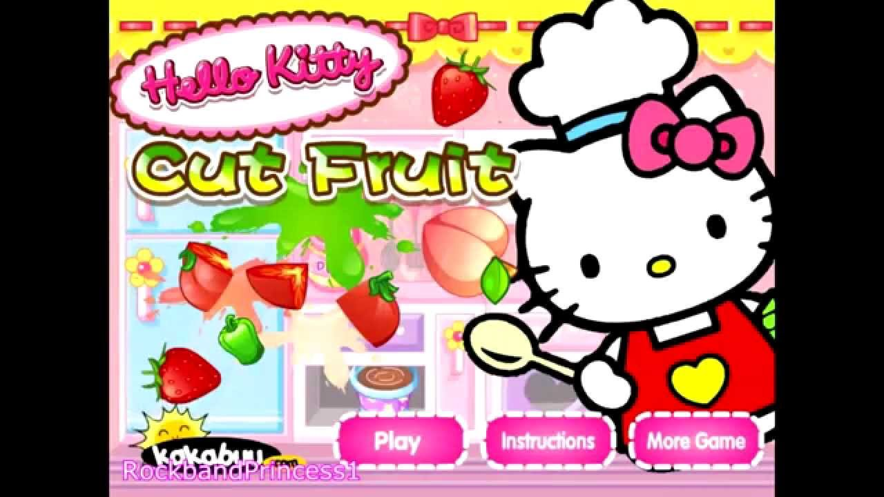 Didi Games Hello Kitty Cooking
