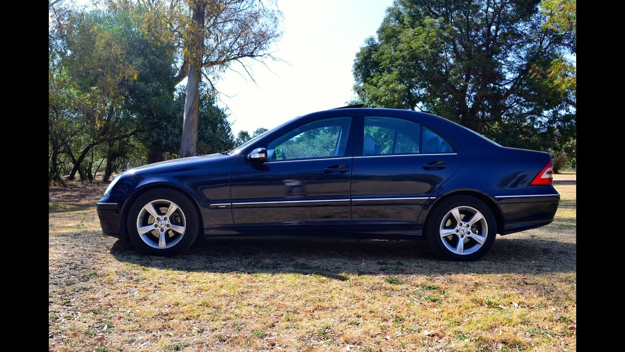 2006 mercedes benz c220 cdi avantgarde 2692 youtube for Mercedes benz blue window tint