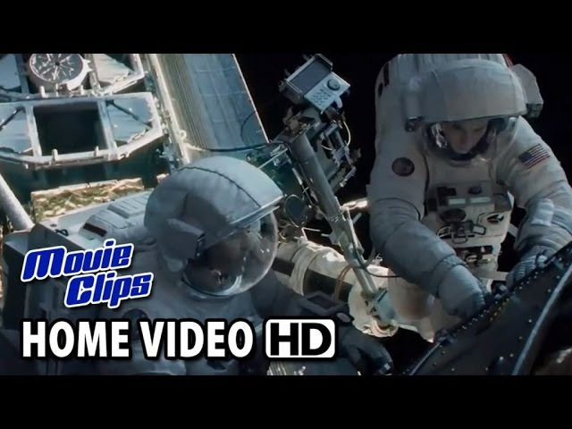 Gravity Blu-Ray Movie Clip - Mission Abort (2013) HD