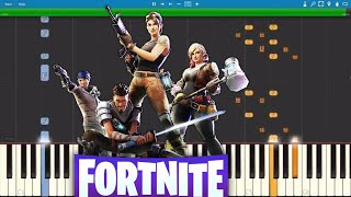 Fortnite Dances On Piano Compilation - Piano Tutorial