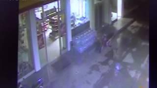 Manisa'da ki Benzinlik soygunu kameralara yakalandı