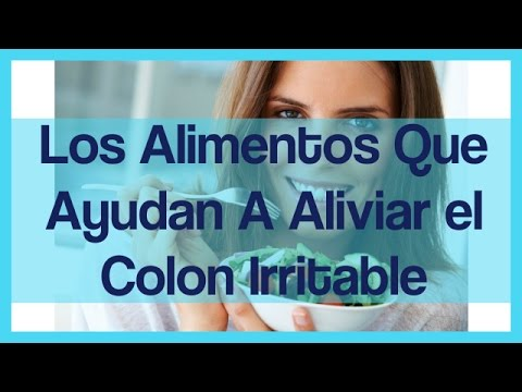 Dieta para el colon irritable -  Alimentos para el intestino Irritable