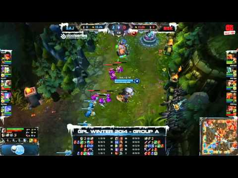 [GPL 2014 Mùa Đông] [Tie - Breakers] Saigon Jokers vs Mineski [30.11.2013]