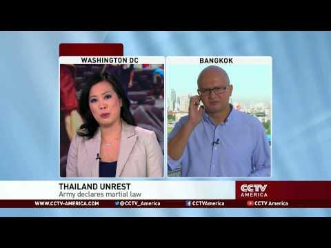 Thai Military Declares Martial Law