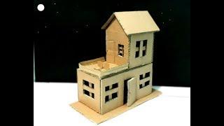 Cara Mudah Membuat Rumah Dari Kardus Bekas Mr Otex