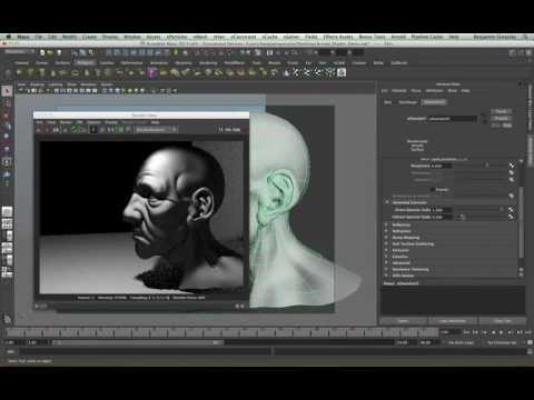 Arnold for Maya Tutorial - Shaders