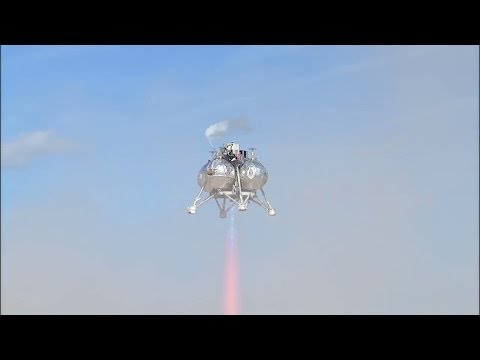 Morpheus Lander Completes Its First Free Flight | NASA Space Science HD