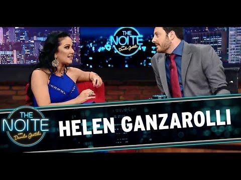 The Noite 30/07/14 (parte 1) - Entrevista com Helen Ganzarolli