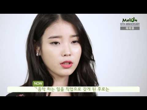 Melon 10th Anniversary interview- IU(아이유)
