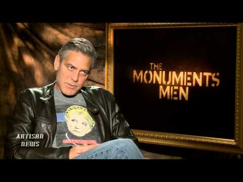 THE MONUMENTS MEN NOT DETERRED BY LEGO TOP SPOT BLOCK AT BOX OFFICE