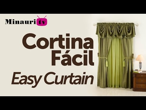 DIY - Cortina FACIL Minauri ( Easy Courtain )