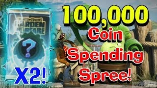 100,000 Coin Shopping Spree 2 X SUPER RARE CARD PACK