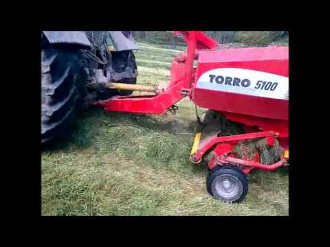 First cut with Forage Wagon - C R Bowen contractors