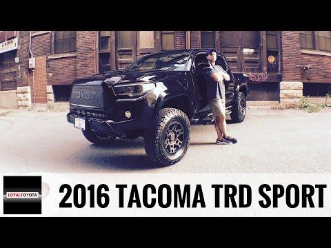 Toyota Tacoma TRD Sport 4x4 Custom - LOYALTOYOTA