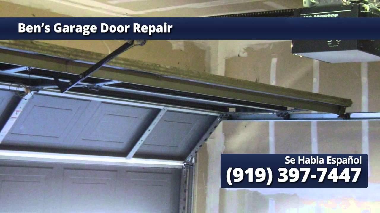 for Garage door repair cary nc