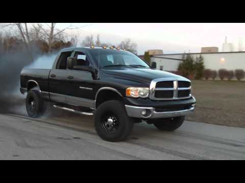 Nick Fried Dodge Cummins Common Rail Burnout at Gread Tuning