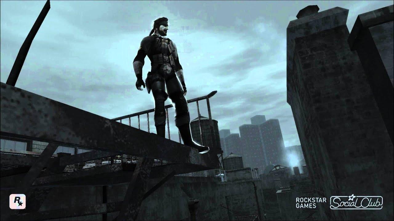 GTA San Andreas Metal Gear Solid V TPP Venom Snake MGS3DLC
