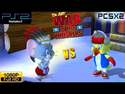 Tom and Jerry in War of the Whiskers - PS2 Gameplay 1080p - Nibbles vs Duckling (Alt. Costumes)