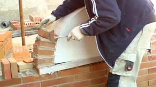 Albañilería - Construcción arco de medio punto