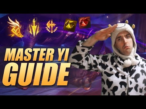 MASTER YI GUIDE:  RUNES, BUILD, JUNGLE PATH AND MORE - Cowsep