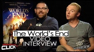 The Worlds End Interview - Simon Pegg & Nick Frost