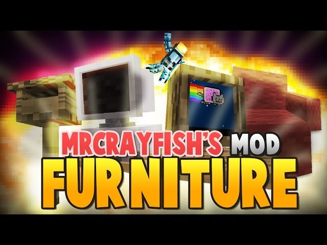 Minecraft: Mr. Crayfish's Furniture Mod - TVs, Couches, Computers, and More!