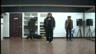 SS501 UR Man [ Kim Hyun Joong Ensayando Coreografía