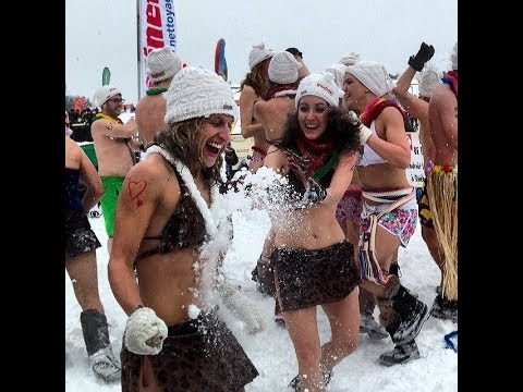 Quebec Winter Carnival Snow Bath Behind the Scenes