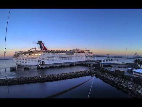 Carnival Imagination Leaves Port in Long Beach